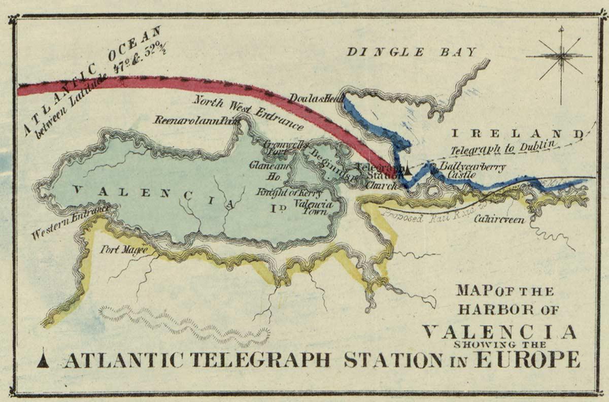 History of the Atlantic Cable  Submarine Telegraphy  Atlantic