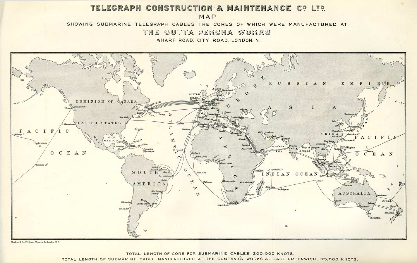 History Of The Atlantic Cable Submarine Telegraphy Submarine - Us cable map