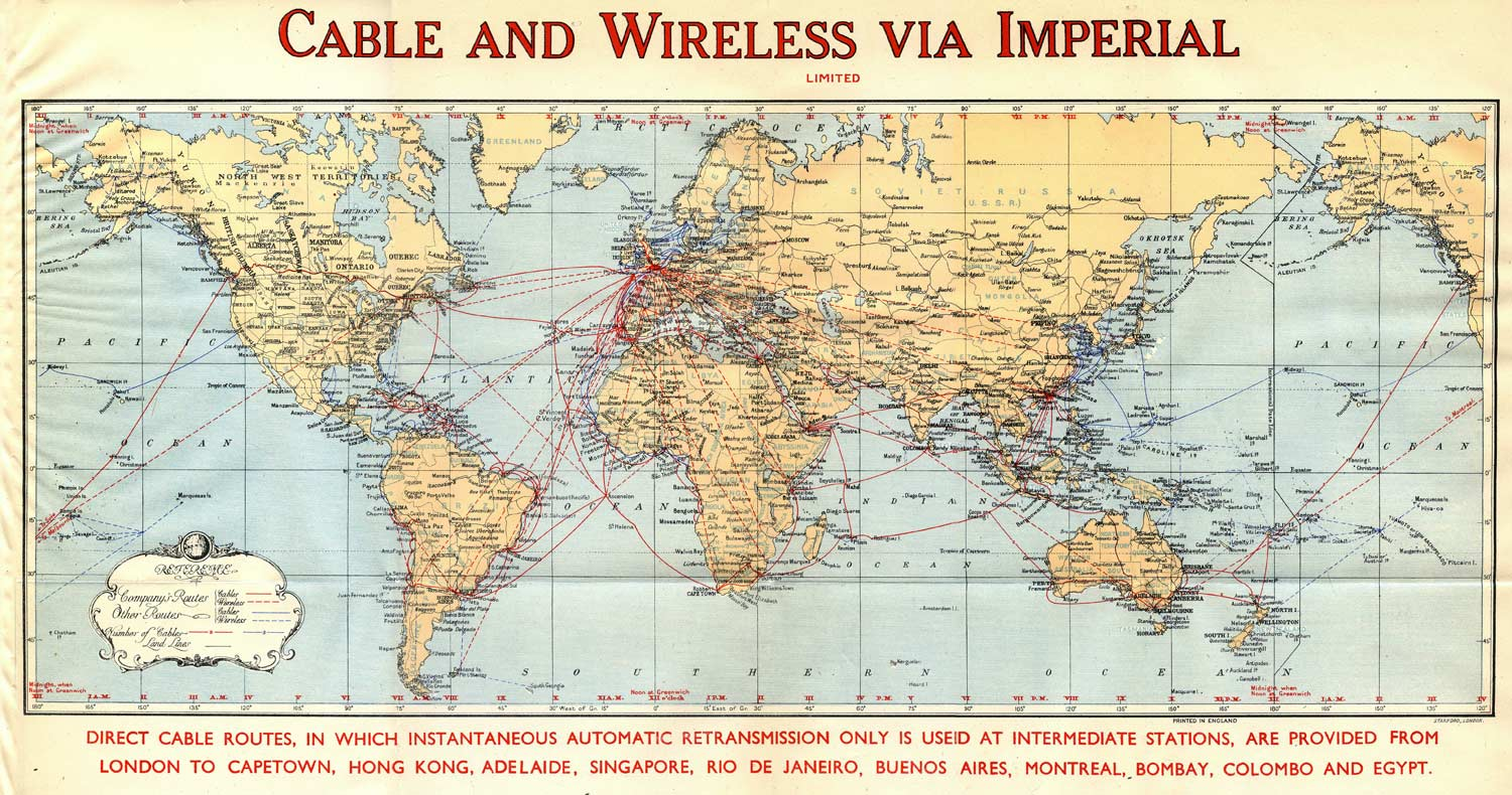History of the Atlantic Cable & Submarine Telegraphy - Submarine ...