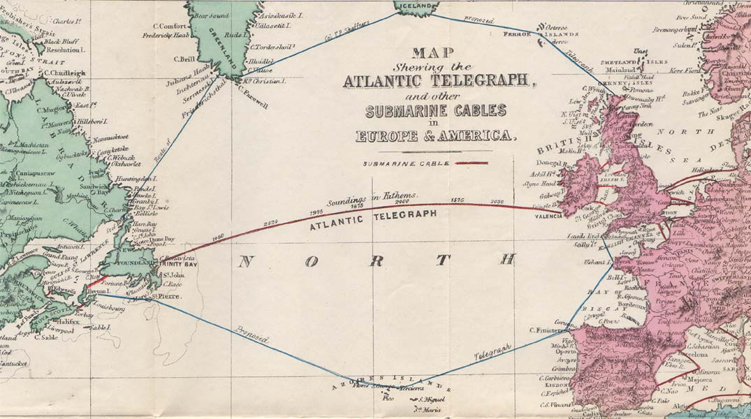 History of the Atlantic Cable & Submarine Telegraphy ...